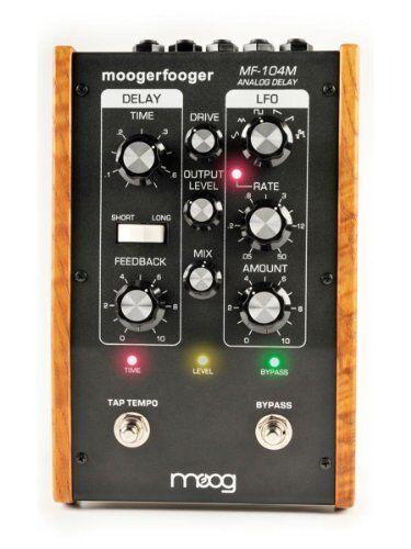 Moog Mf104m Moogerfooger Analog Delay Effects Pedal - Black