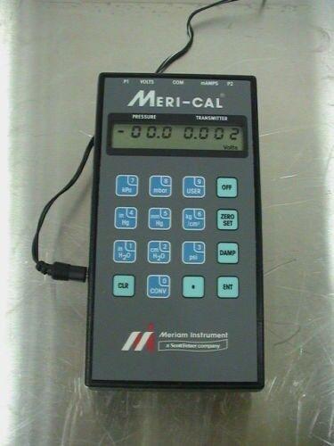 Meriam Meri-Cal Precision Pressure Calibrator model # LP200I