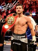Carl Froch Signed