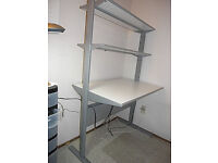 IKEA Fredrik PC desk (White) - excellent condition - dismantled, ready to go!