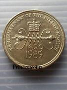 Bill of Rights 2 Pound Coin
