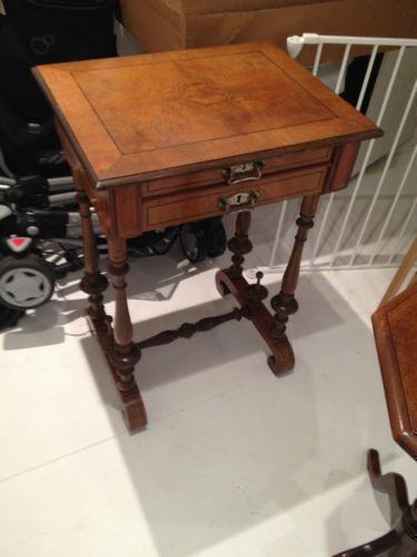 sewing table ebay. Black Bedroom Furniture Sets. Home Design Ideas