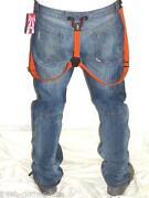 Mens Suspender Jeans