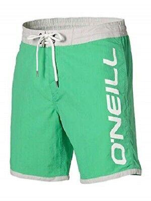 O'NEILL Green Naval Board Beach Swim Shorts Small BNWT
