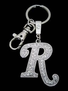 Letter R Keychain