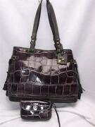 Dooney & Bourke Croco Embossed