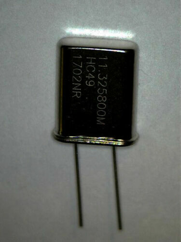 11.3258 Mhz Xtal 2 PCS  for Cobra 148 channel mod cobra 2000gtl and others