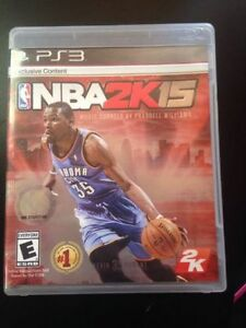 SONY PlayStation 3 PS3 NBA 2K15 2015 (COMPLETE) Cambridge Kitchener Area image 1