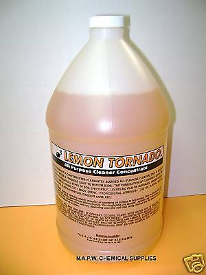 Lemon Tornado Professional Janitorial Strength Concentrate Cleaner 2 Gal.