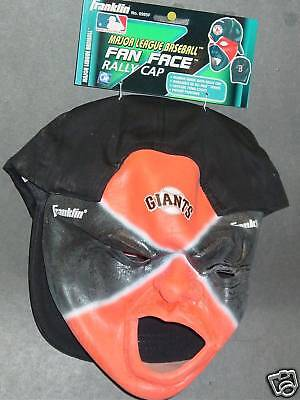 MLB San Francisco Giants Fan Face Mask With Rally Cap, NEW - San Francisco Giants-fan