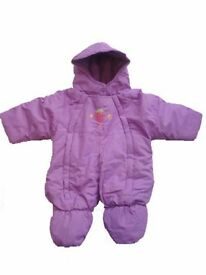 Baby Snow suit - Lilac, EXCELLENT CONDITION