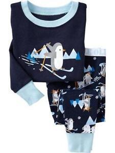 Boys Christmas Pajamas | eBay