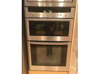 Neff U1644 Stainless Steel double Oven