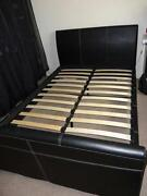 White Double Sleigh Bed