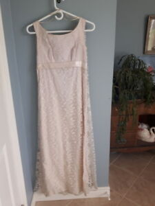 Vintage antique wedding dress
