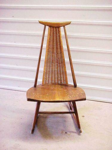 Mid Century Modern Rocking Chair Ebay