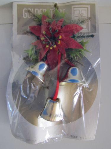 Vintage christmas door decorations ebay - Deco noel vintage ...