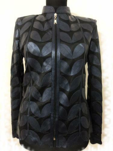 Genuine Leather Jacket Womens
