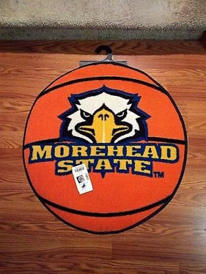 Fanmats Morehead State Basketball Shaped Area Rug  NEW 19