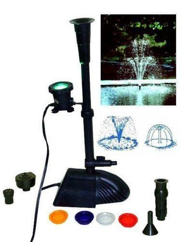 Pond Waterfall Lights Ebay