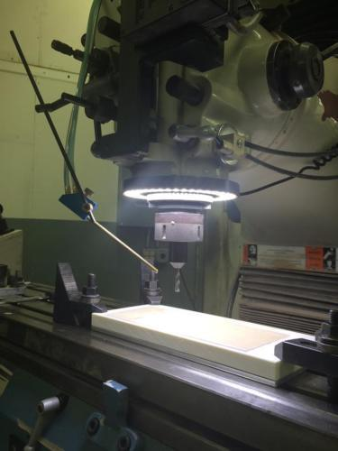 VISION 3.5 LED RING LIGHT 126 LEDS CNC R8 KNEE MILL BRIDGEPORT PROTOTRAK IP68