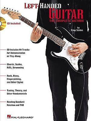 Left Handed Guitar Music - Left-Handed Guitar Technique Learn to Play Method TAB Music Book & CD