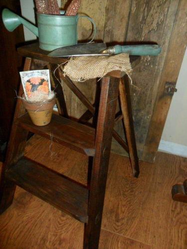 Wooden Ladder Ebay