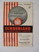 Newcastle United Football Programmes