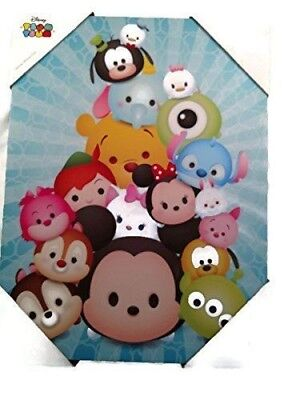 Tsum Tsum Canvas Wall Hanging 12x16in for sale  Shipping to India