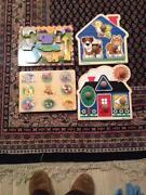 Melissa and Doug Puzzles Lot
