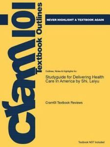 Studyguide for delivering health care in america by shi leiyu by stock photo fandeluxe Gallery