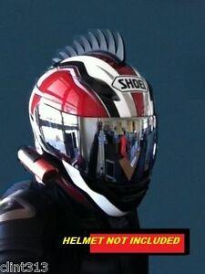 motorcycle suzuki hayabusa cbr zx1 zx6 zx11 ninja triumph gsxr helmet mohawk Saw
