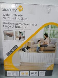 Safety 1st Wide & Extra Wide (Metal) Sliding Gate *Like New* $45