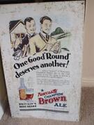 Newcastle Brown Ale Sign