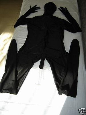Fancy dress party full body lycra spandex zentai suit with Men's penis S-XXL](Suit Penis)