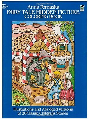 Fairy Tale Hidden Picture Coloring Book (Dover Childrens Activity Books) by Ann Fairy Tale Activity