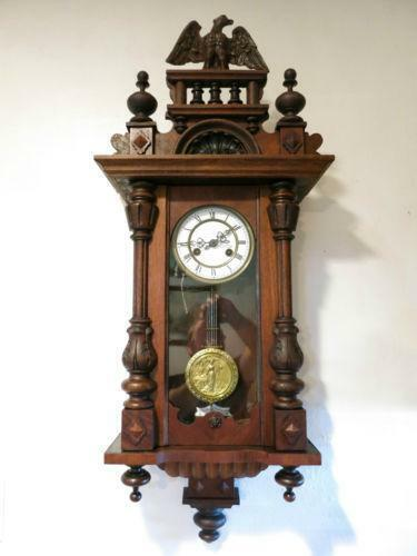 Wall Hanging Grandfather Clock junghans wall clock | ebay