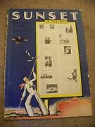Vintage Sunset Magazine