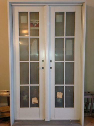 Andersen patio door ebay for Anderson french doors