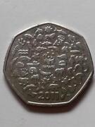 WWF 50p Coin