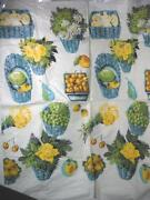 Vintage Blue Fabric Cotton