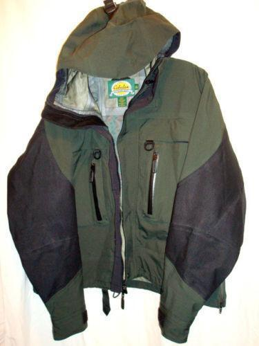 Cabelas gore tex sporting goods ebay for Bass fishing rain gear