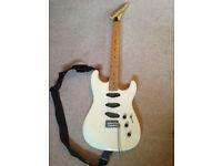Frontline 301 super strat electric guitar 1980s