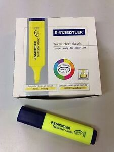 New Pack of 10 Staedtler Textsurfers + more