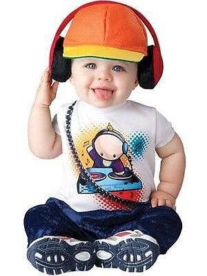 Incharacter Baby Beats Dj Edm Music Infant Costume Halloween Cute Baby Size S-L - Halloween Edm Music