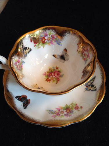 Butterfly Handle Tea Cup Ebay