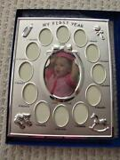 Baby's First Year Picture Frame