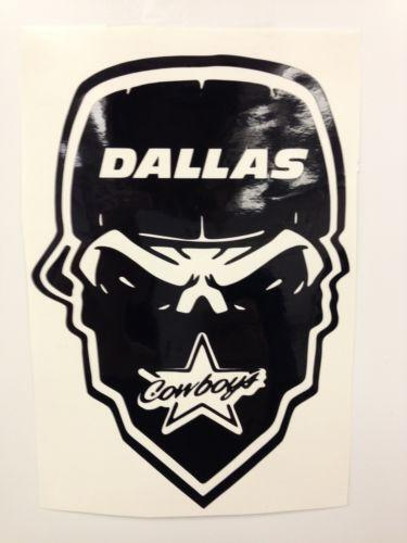 Dallas Cowboys Car Decal Ebay