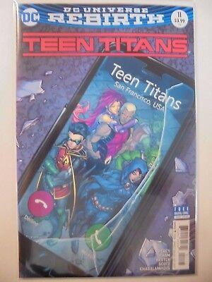 Teen Titans #11 B Cover DC Rebirth NM Comics Book