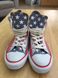 Converse All Star Hi Top Trainers New Size 5